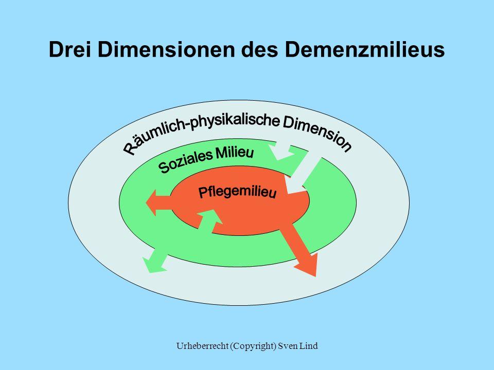 Drei Dimensionen des Demenzmilieus