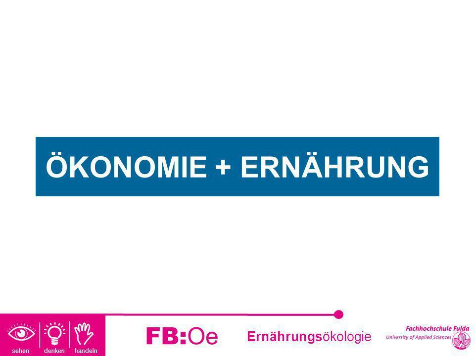 ÖKONOMIE + ERNÄHRUNG FB:Oe