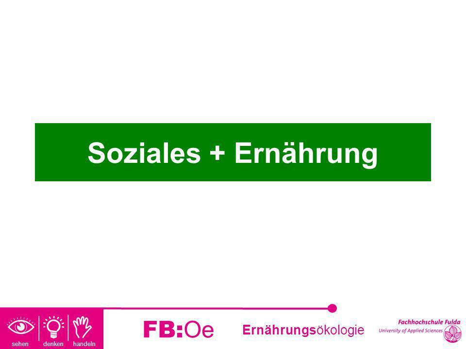 Soziales + Ernährung FB:Oe