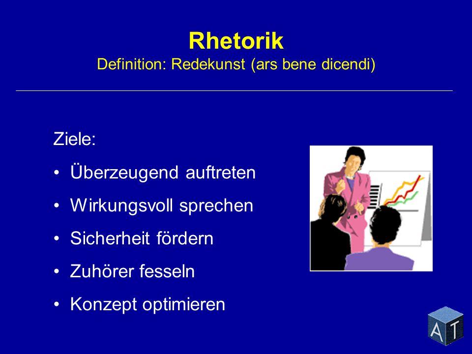 Rhetorik Definition: Redekunst (ars bene dicendi)