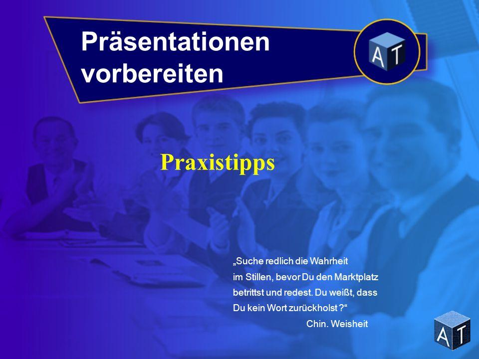 Präsentationen vorbereiten