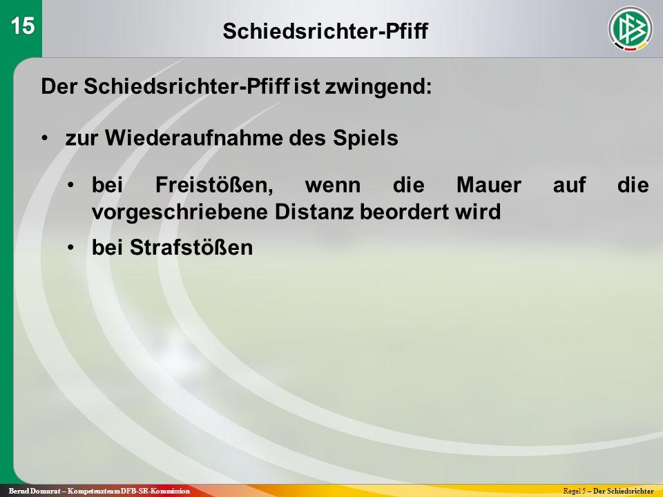 Schiedsrichter-Pfiff
