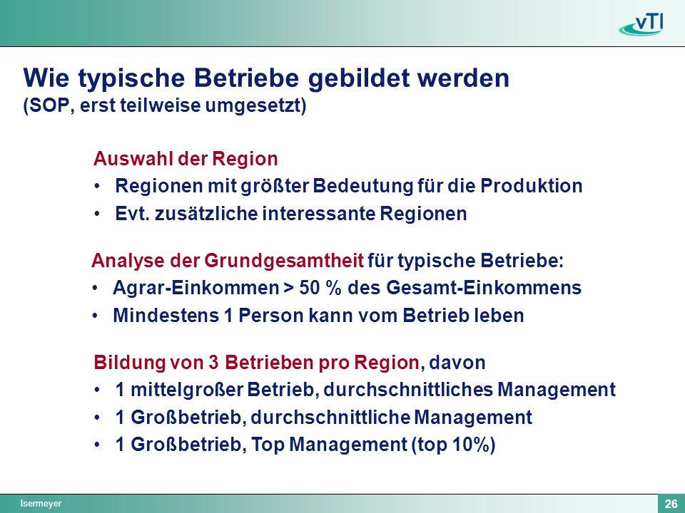 Wie typische Betriebe gebildet werden (SOP, erst teilweise umgesetzt)