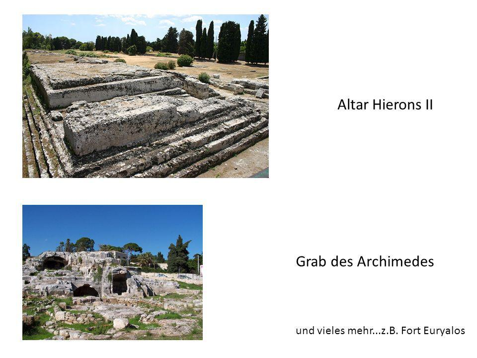 Altar Hierons II Grab des Archimedes