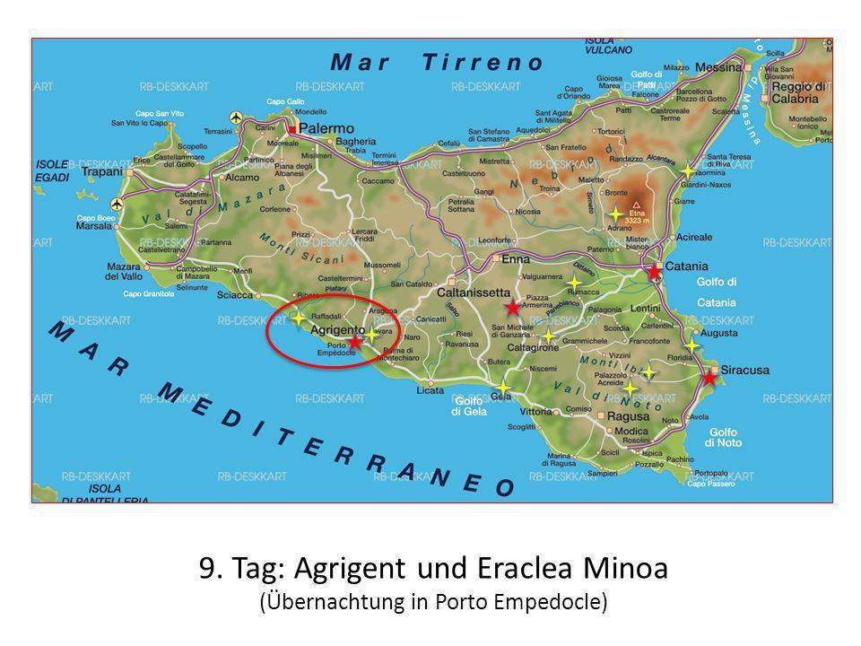9. Tag: Agrigent und Eraclea Minoa