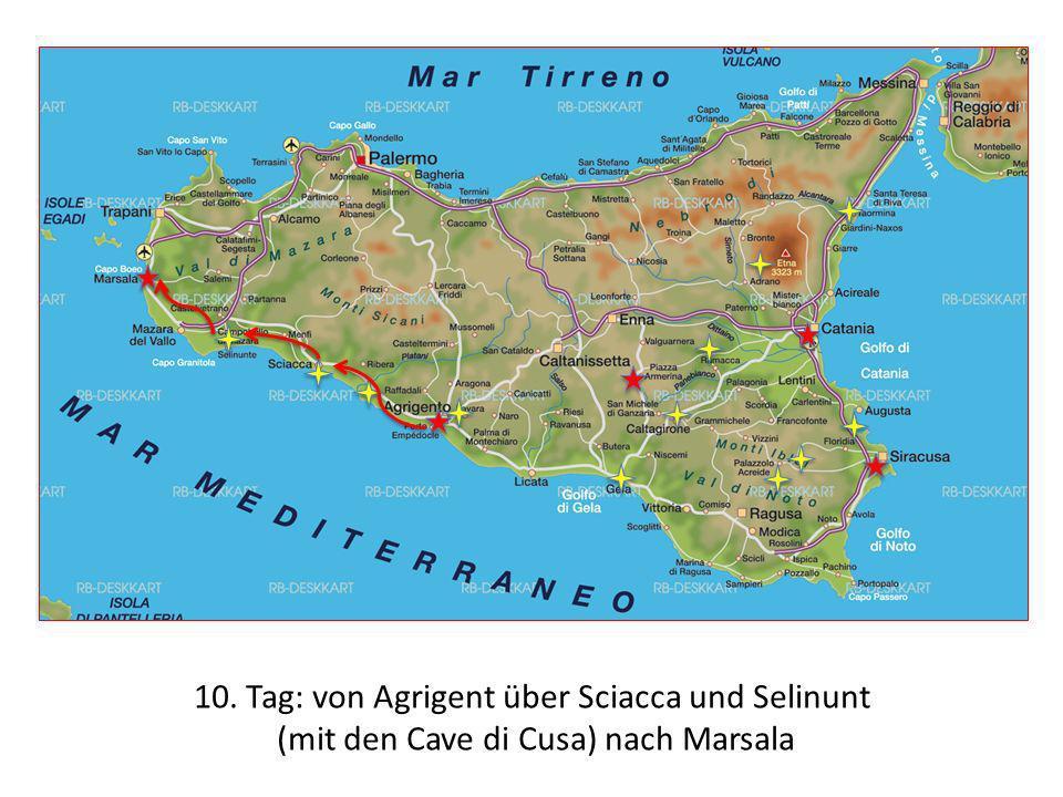 10. Tag: von Agrigent über Sciacca und Selinunt