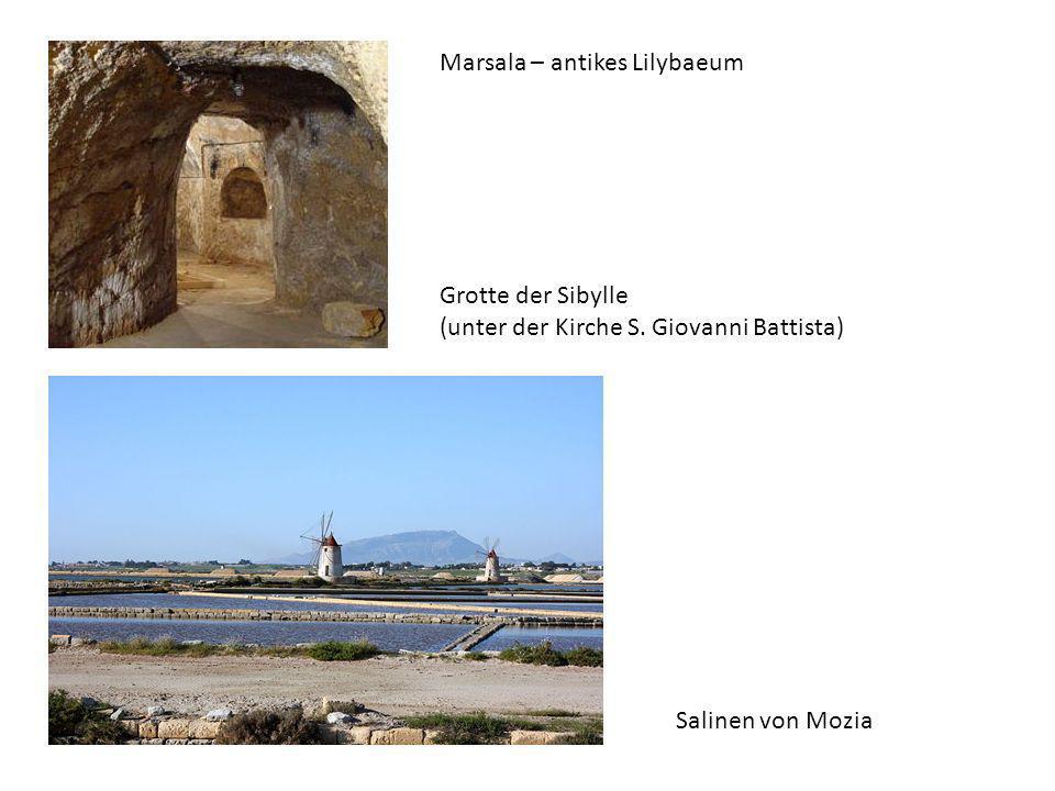 Marsala – antikes Lilybaeum