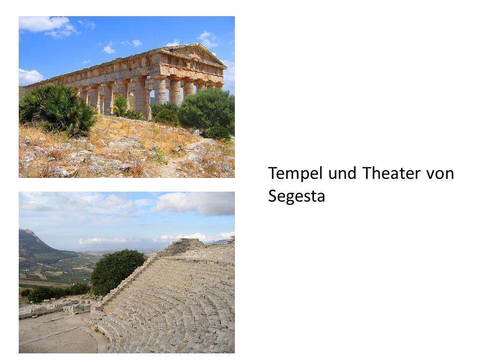 Tempel und Theater von Segesta