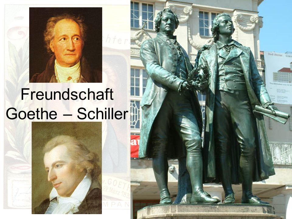 Freundschaft Goethe – Schiller