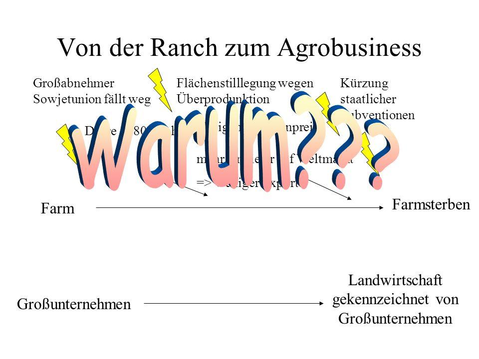 Von der Ranch zum Agrobusiness