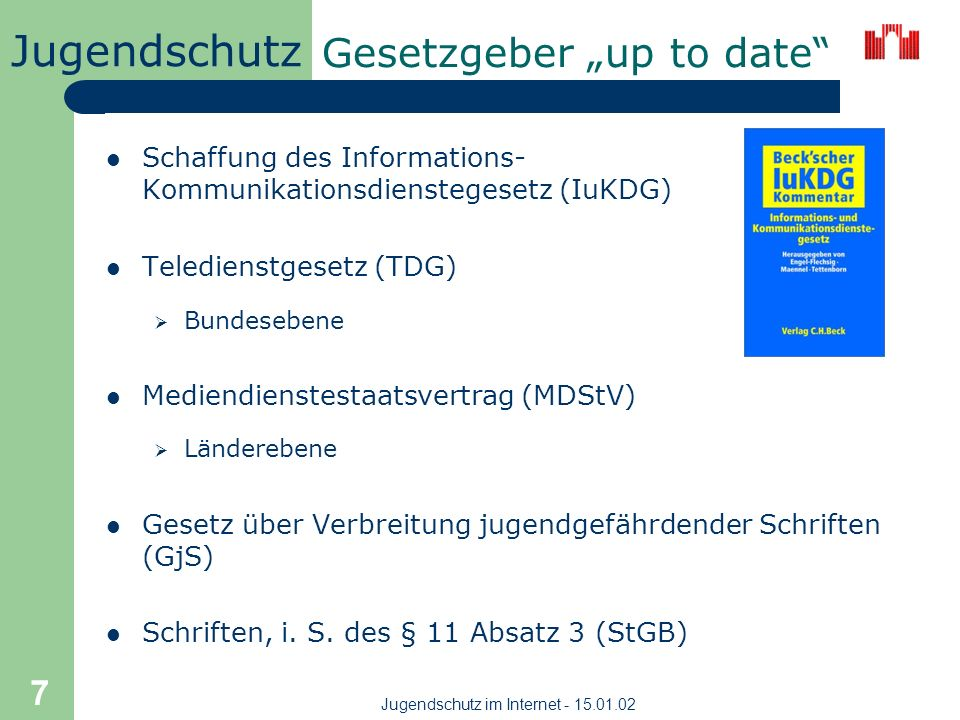"Gesetzgeber ""up to date"