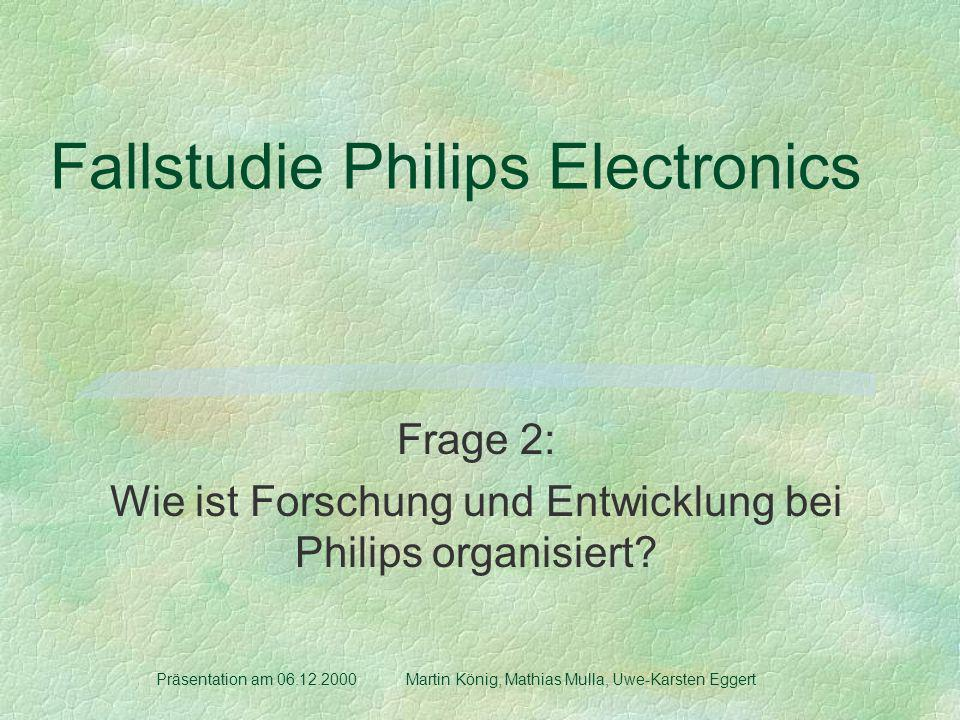 Fallstudie Philips Electronics
