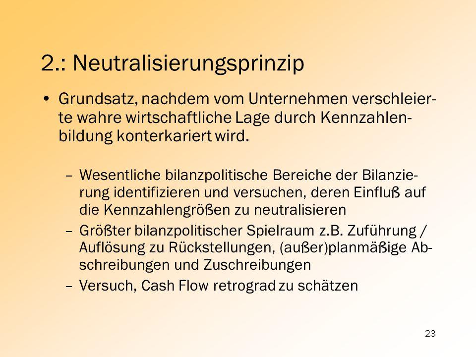 2.: Neutralisierungsprinzip