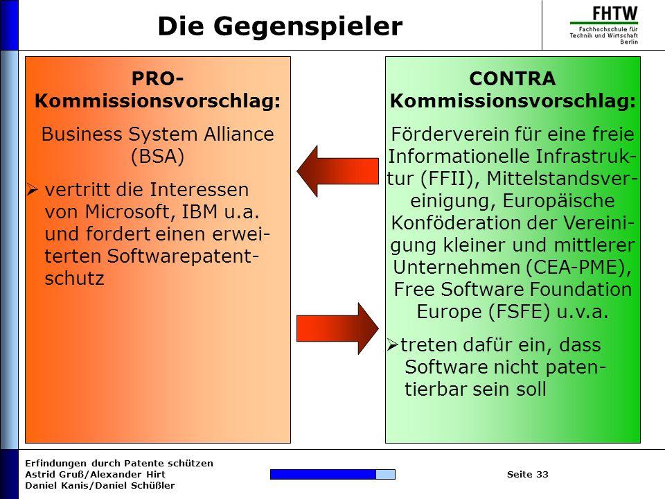 Kommissionsvorschlag: Kommissionsvorschlag: