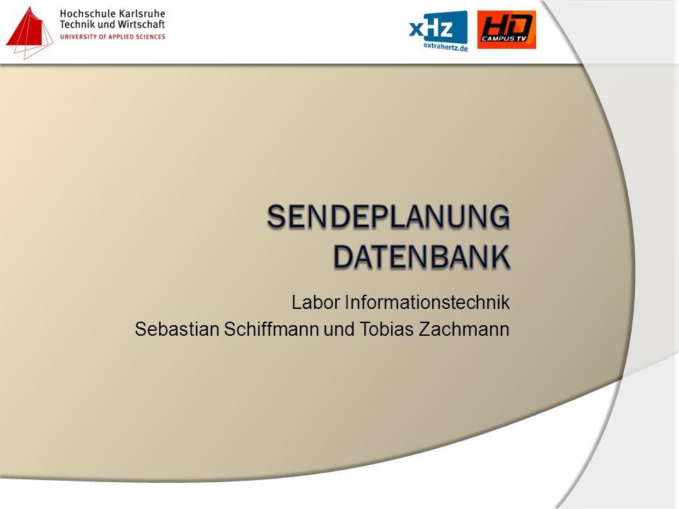 SendEplanung Datenbank