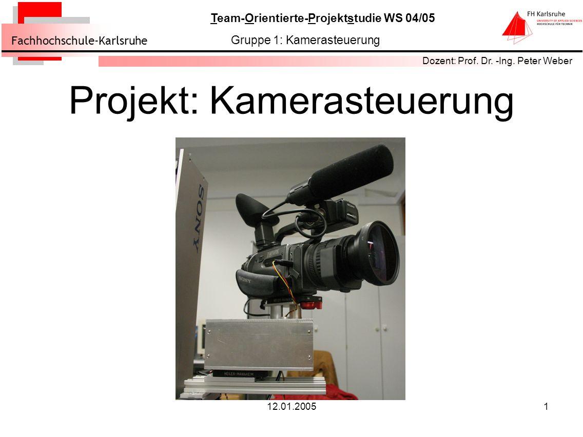 Projekt: Kamerasteuerung