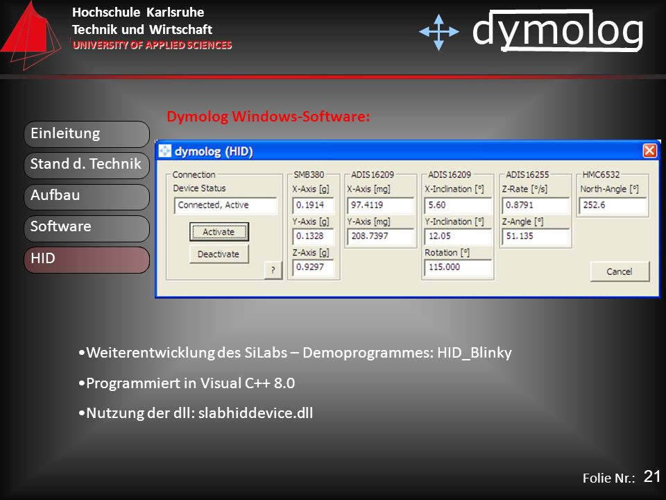 Dymolog Windows-Software: