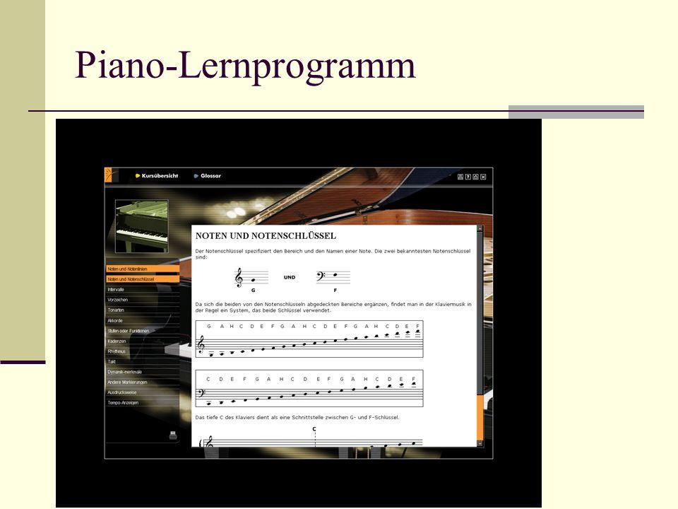 Piano-Lernprogramm