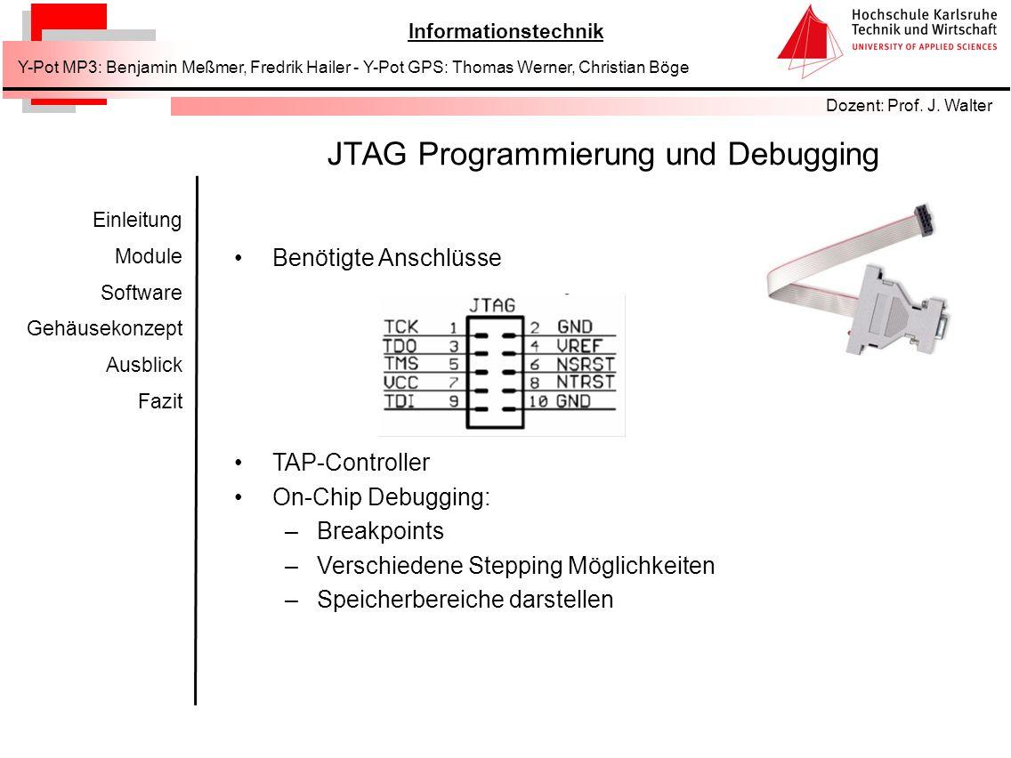 JTAG Programmierung und Debugging