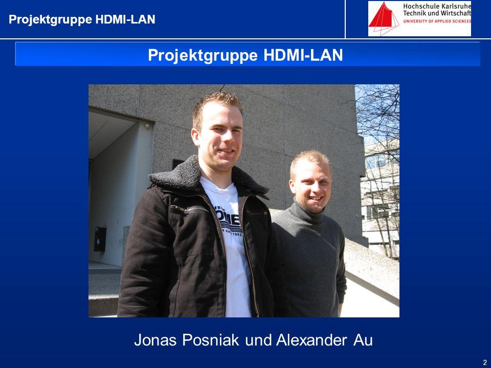 Projektgruppe HDMI-LAN
