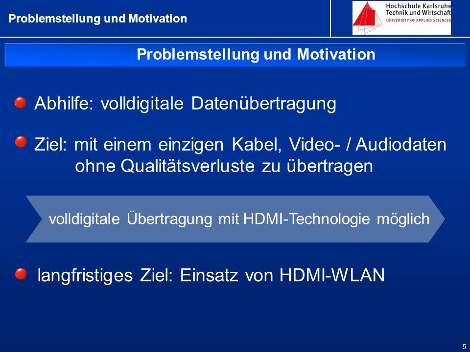 Problemstellung und Motivation