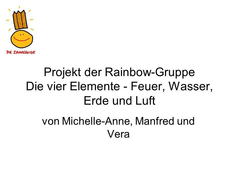 von Michelle-Anne, Manfred und Vera