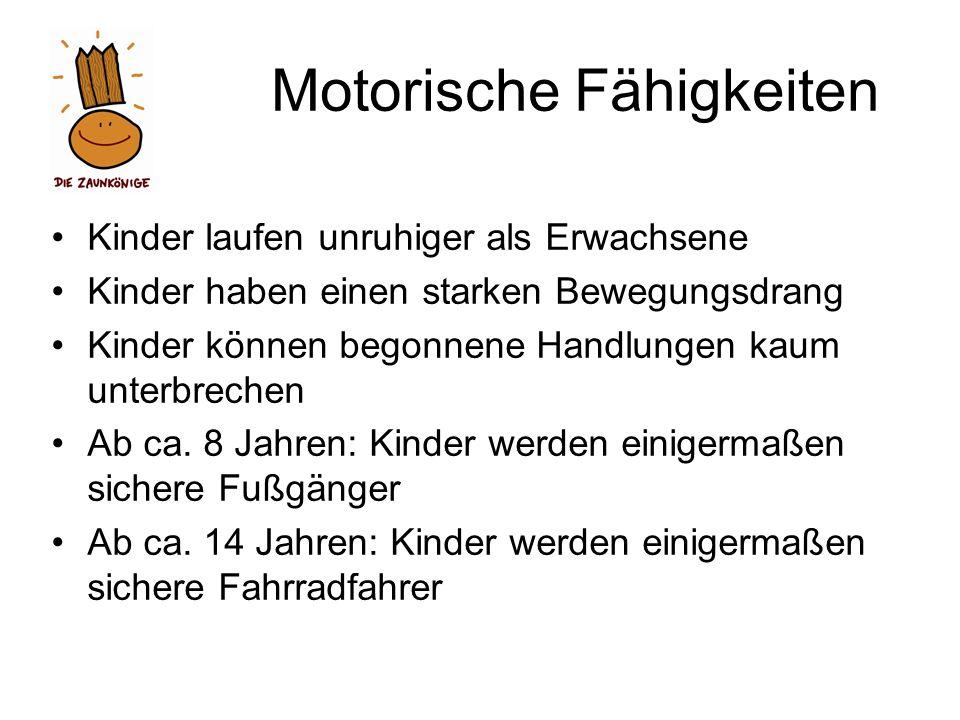 Motorische Fähigkeiten