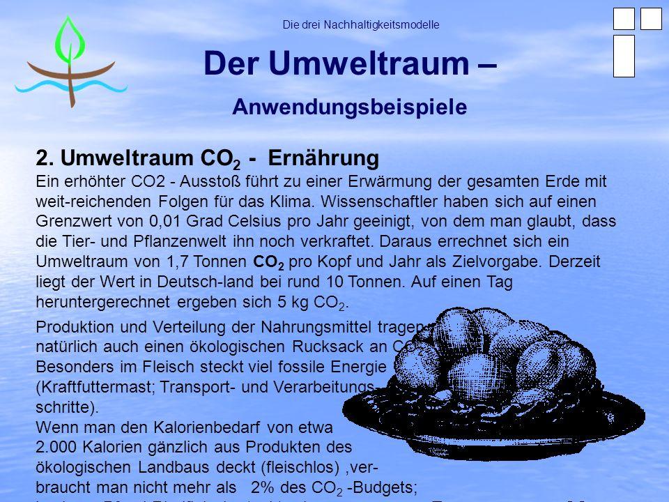 Der Umweltraum – Anwendungsbeispiele