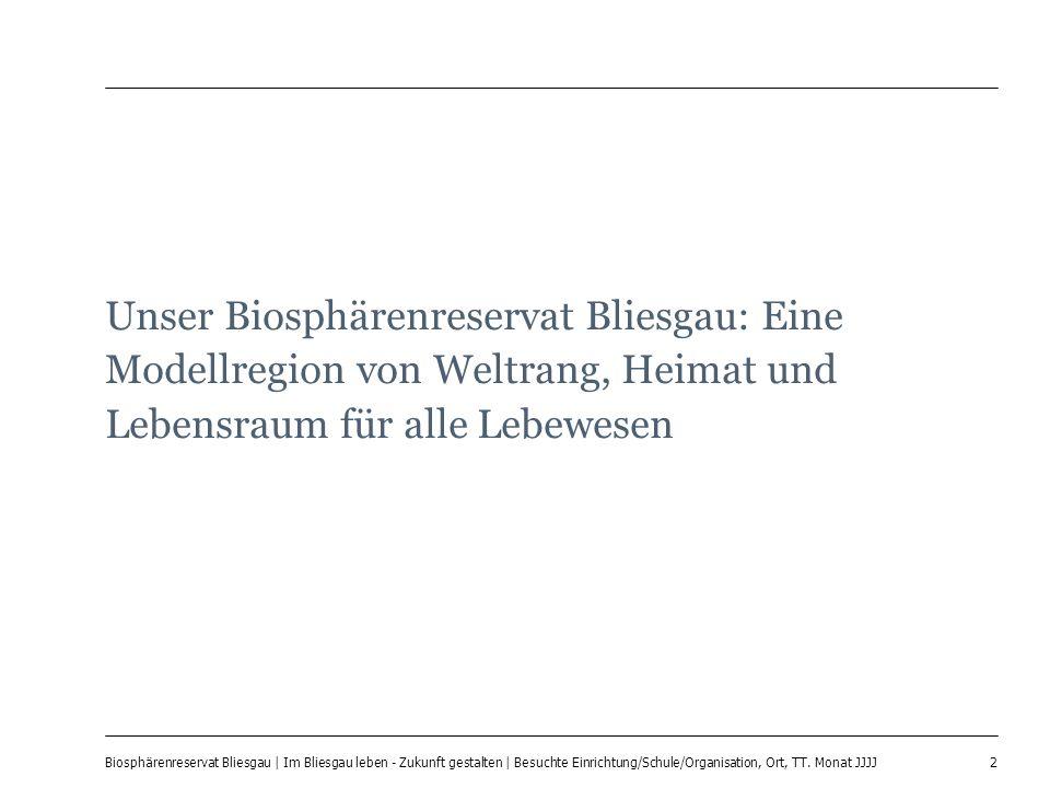 Unser Biosphärenreservat Bliesgau: Eine Modellregion von Weltrang, Heimat und Lebensraum für alle Lebewesen