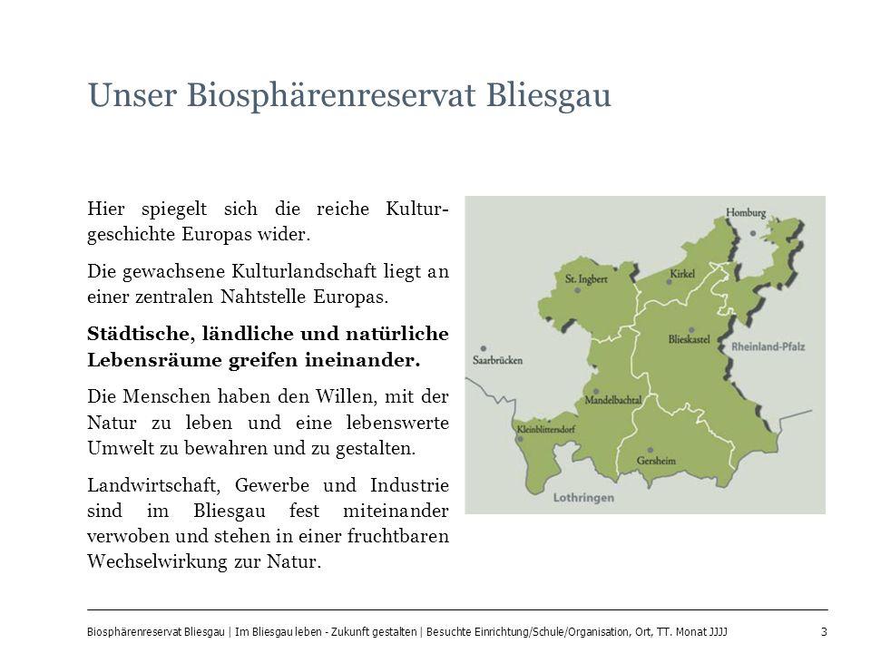 Unser Biosphärenreservat Bliesgau
