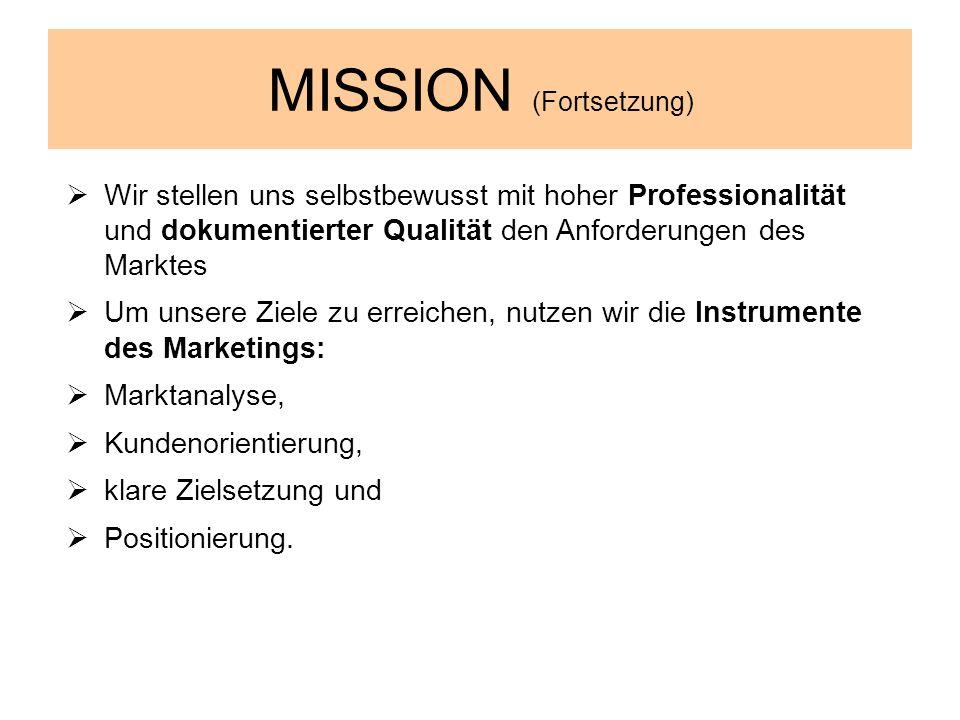 MISSION (Fortsetzung)