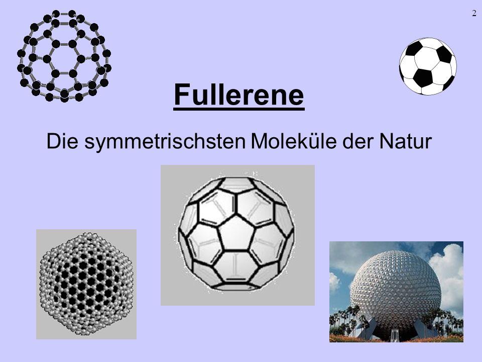 Fullerene Die symmetrischsten Moleküle der Natur