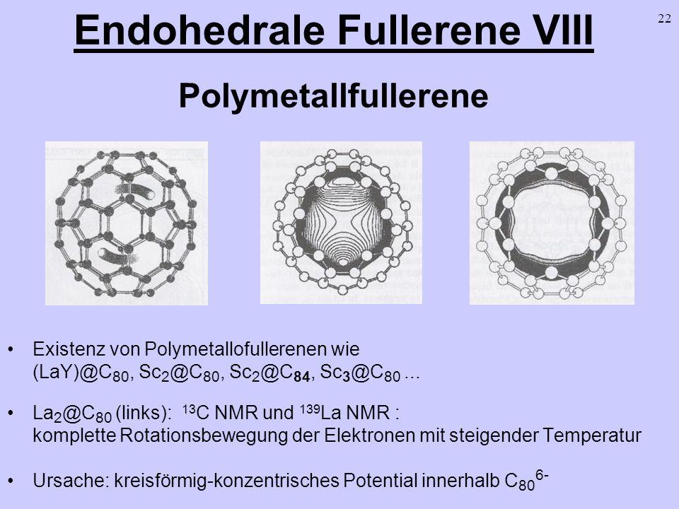 Endohedrale Fullerene VIII Polymetallfullerene