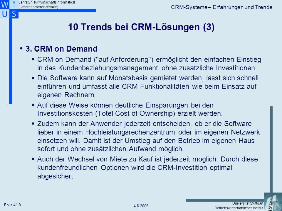 10 Trends bei CRM-Lösungen (3)