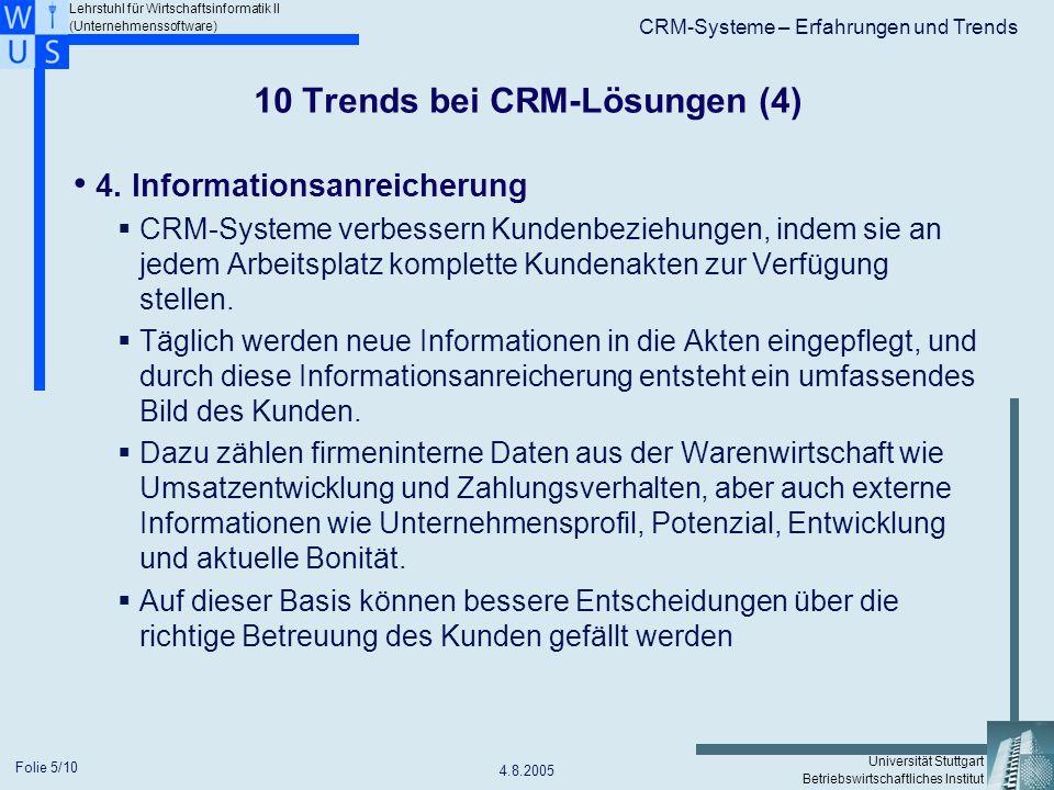 10 Trends bei CRM-Lösungen (4)