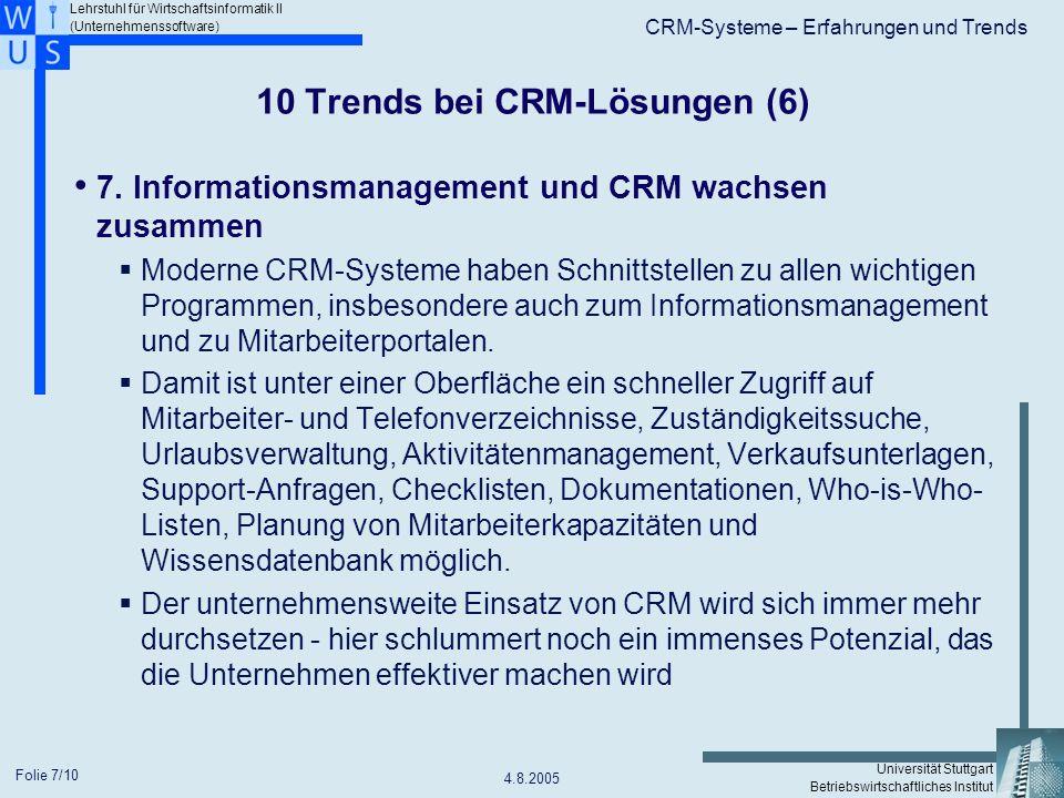 10 Trends bei CRM-Lösungen (6)