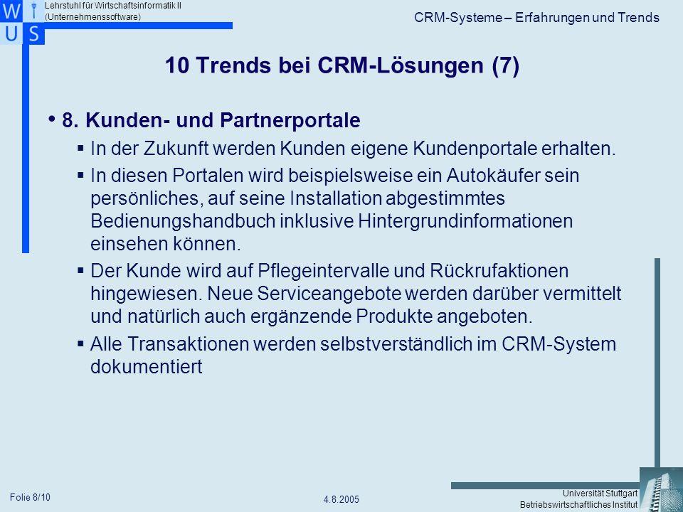 10 Trends bei CRM-Lösungen (7)
