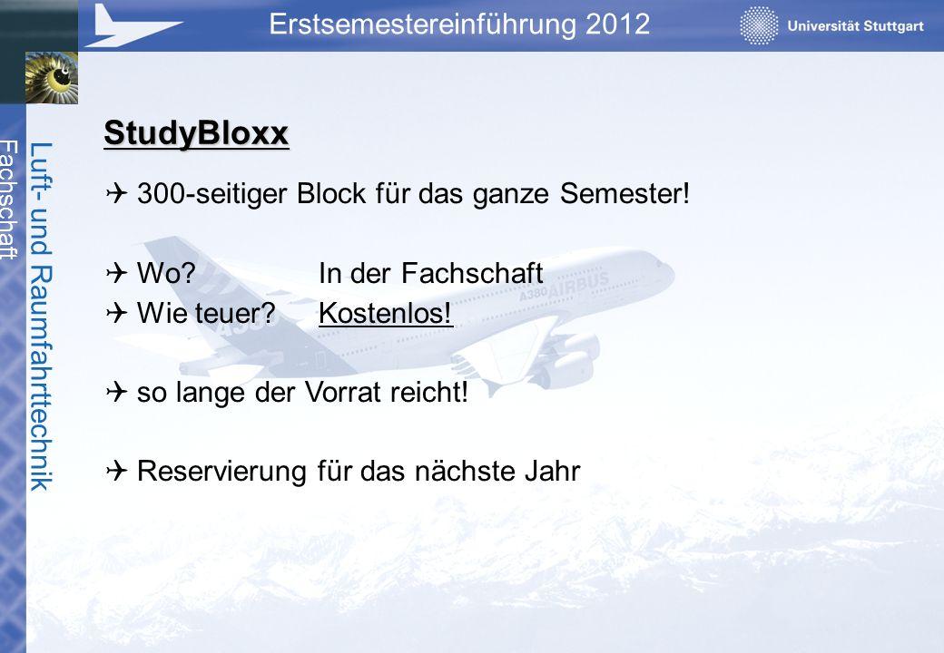 StudyBloxx 300-seitiger Block für das ganze Semester!
