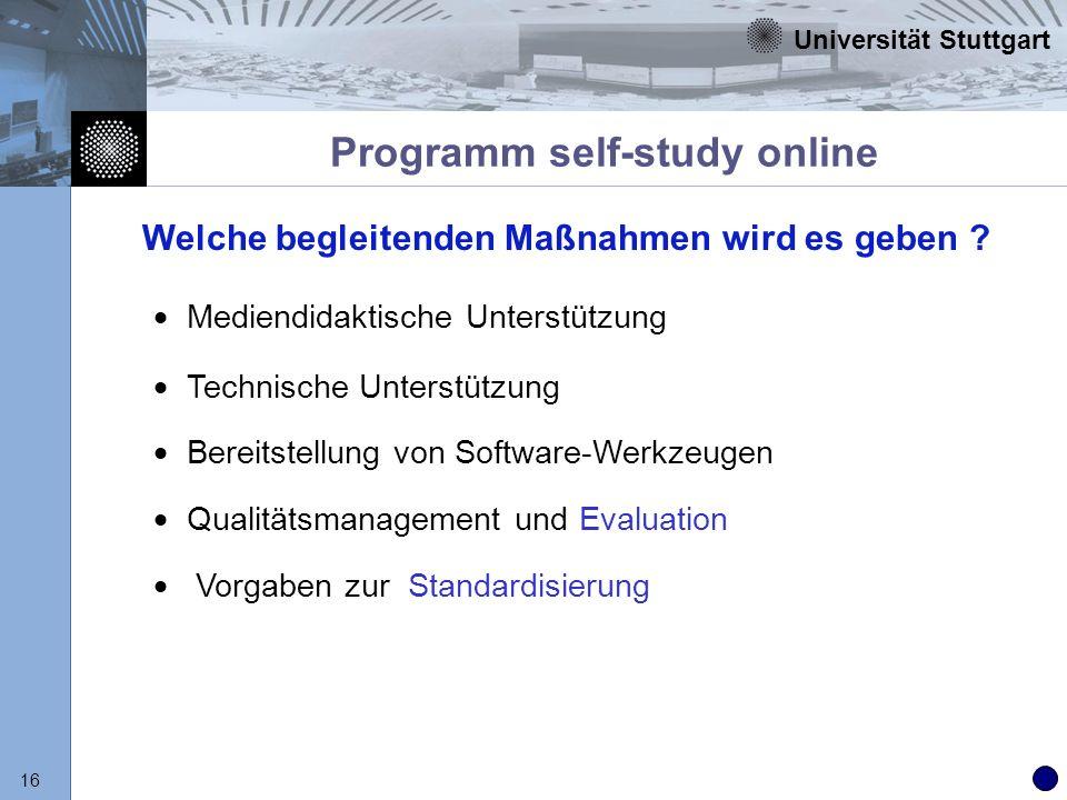 Programm self-study online