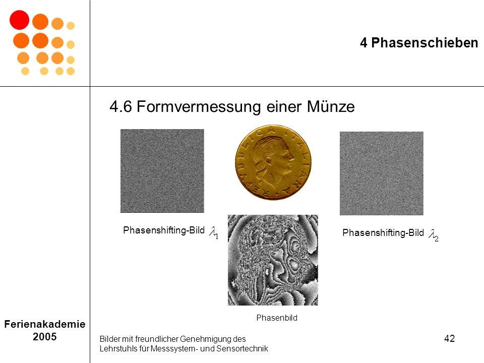 4.6 Formvermessung einer Münze