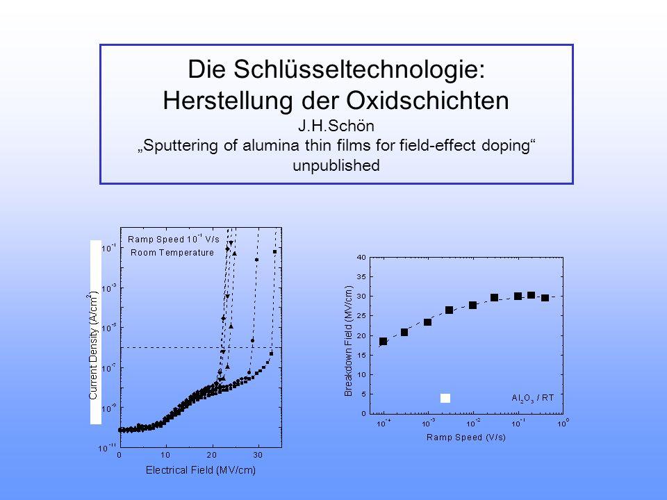 Die Schlüsseltechnologie: Herstellung der Oxidschichten J. H