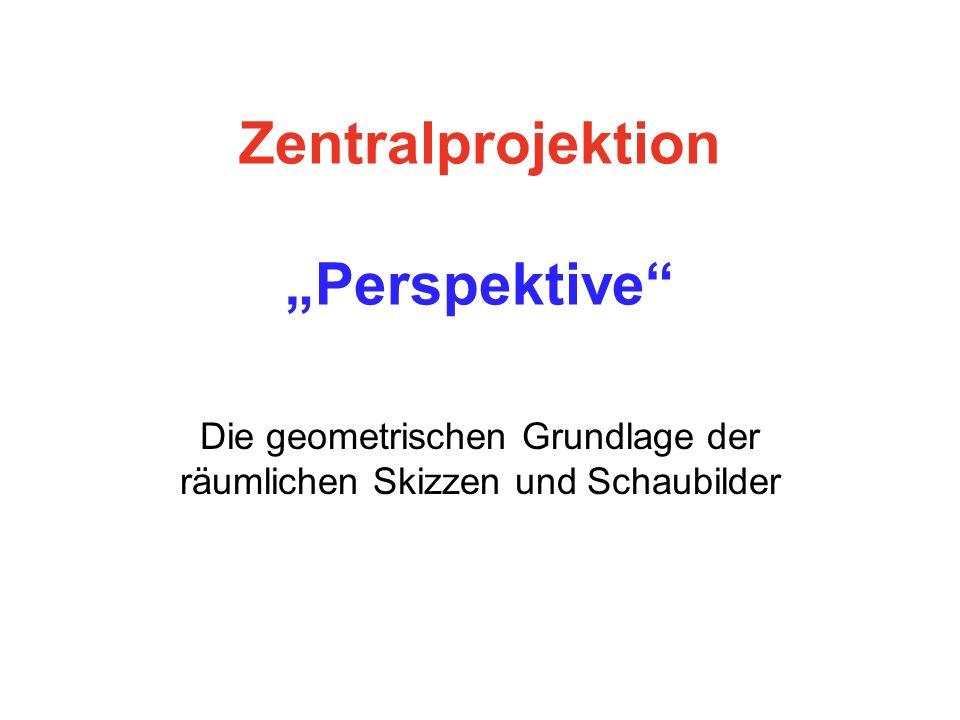 "Zentralprojektion ""Perspektive"