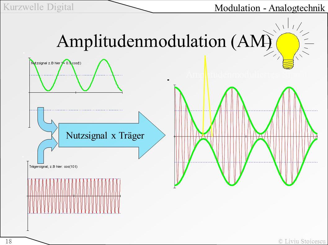 Amplitudenmodulation (AM)