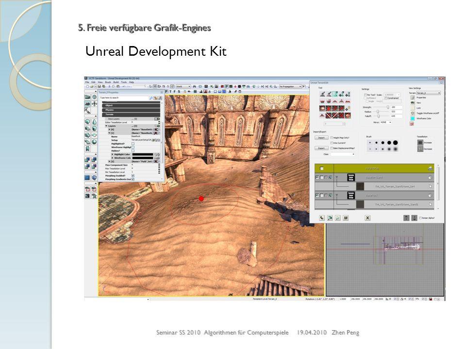 5. Freie verfügbare Grafik-Engines