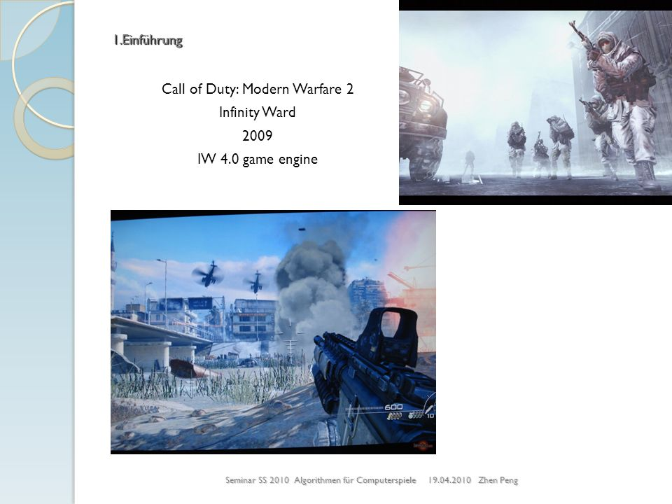 Call of Duty: Modern Warfare 2 Infinity Ward 2009 IW 4.0 game engine