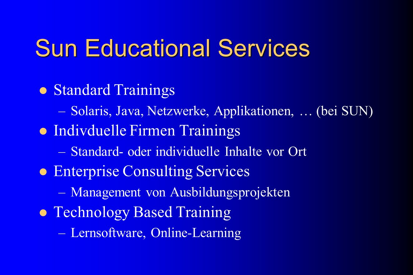 Sun Educational Services
