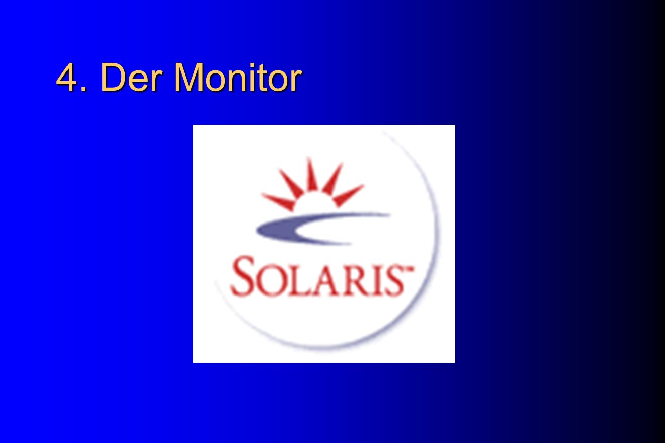 4. Der Monitor Demo: Nach dem Installwindow da