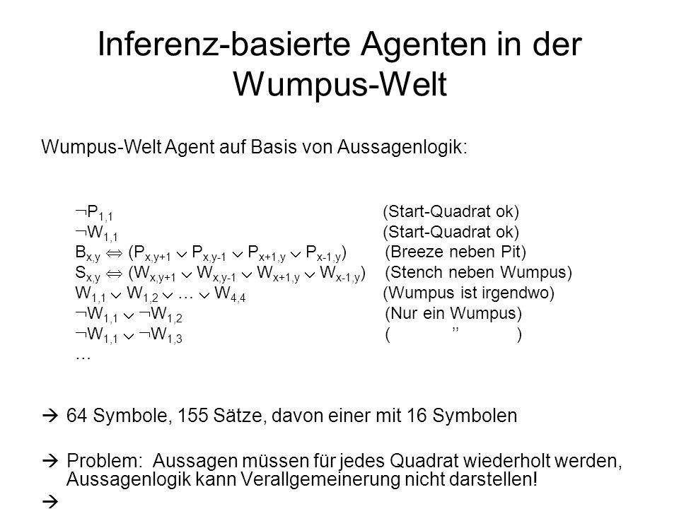 Inferenz-basierte Agenten in der Wumpus-Welt