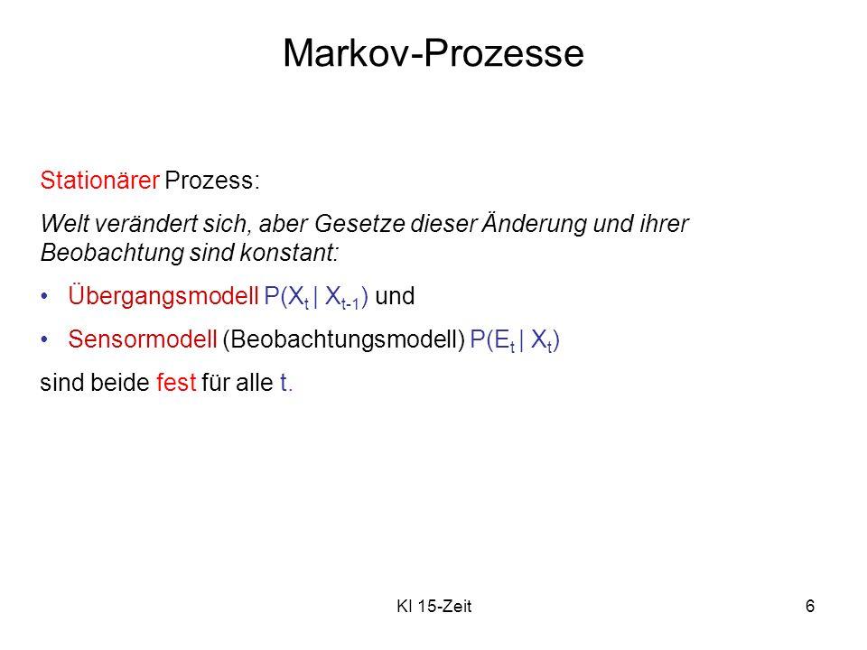 Markov-Prozesse Stationärer Prozess:
