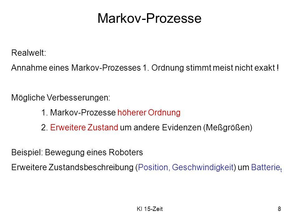 Markov-Prozesse Realwelt: